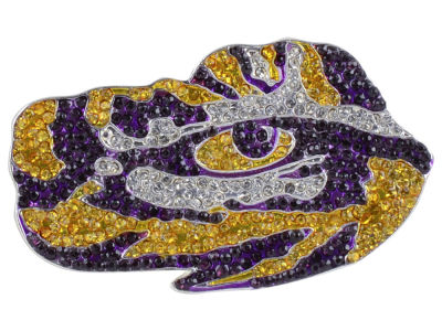 LSU Tigers Crystal Pin