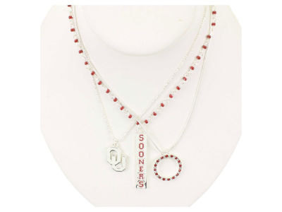 Oklahoma Sooners Trio Necklace Set