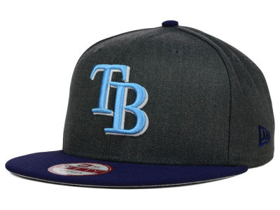 Tampa Bay Rays New Era MLB Graphite Speed Up 9FIFTY Snapback Cap
