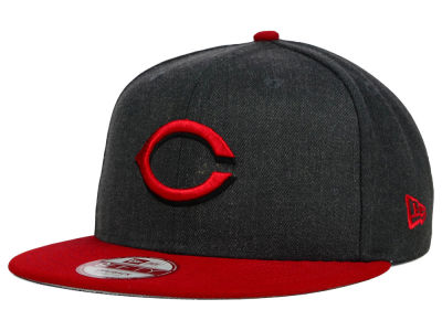 Cincinnati Reds New Era MLB Graphite Speed Up 9FIFTY Snapback Cap