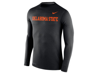 Oklahoma State Cowboys Nike NCAA Men's Stadium Dri Fit Touch Long Sleeve T-Shirt