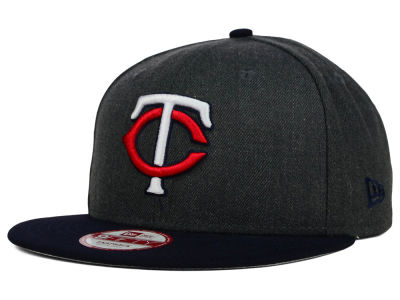 Minnesota Twins New Era MLB Graphite Speed Up 9FIFTY Snapback Cap