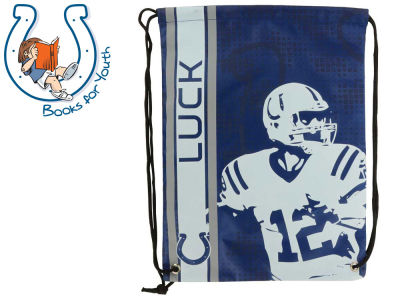 Forever Collectibles Andrew Luck Big Logo Drawstring Backpack