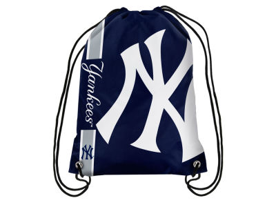 New York Yankees Big Logo Drawstring Backpack