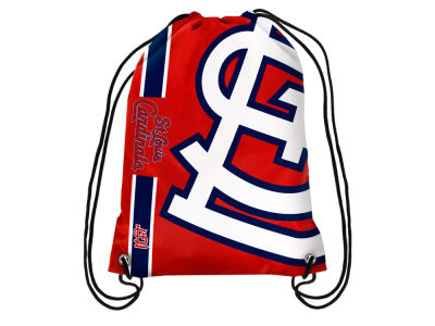 St. Louis Cardinals Big Logo Drawstring Backpack