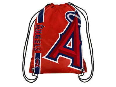 Los Angeles Angels Big Logo Drawstring Backpack