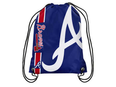 Atlanta Braves Big Logo Drawstring Backpack