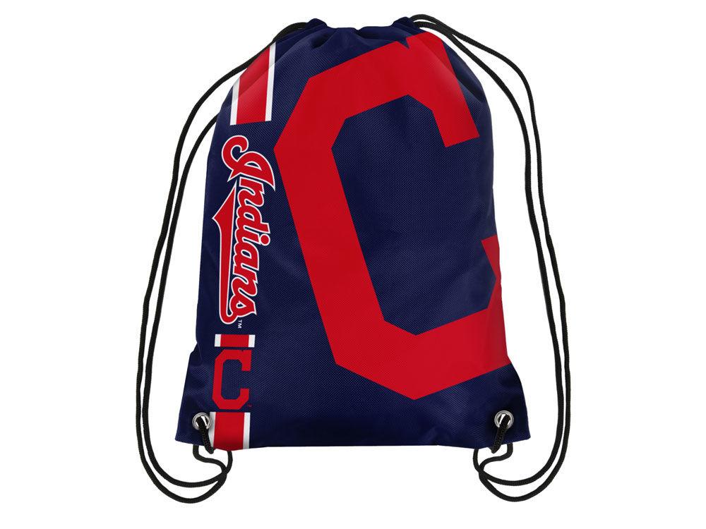 3b32769a04 Cleveland Indians Big Logo Drawstring Backpack