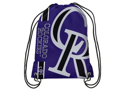 Colorado Rockies Big Logo Drawstring Backpack