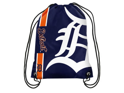 Detroit Tigers Big Logo Drawstring Backpack