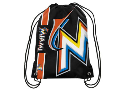 Miami Marlins Big Logo Drawstring Backpack