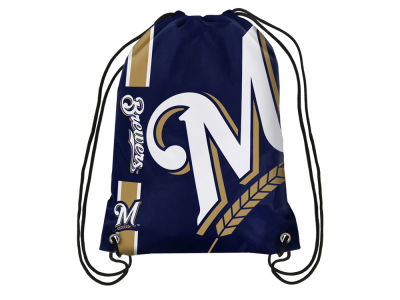 Milwaukee Brewers Big Logo Drawstring Backpack