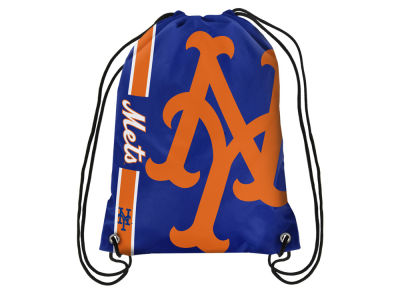New York Mets Big Logo Drawstring Backpack