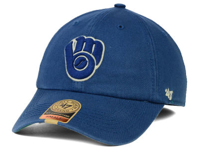 Milwaukee Brewers '47 MLB Off Shore '47 FRANCHISE Cap