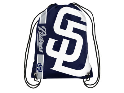 San Diego Padres Big Logo Drawstring Backpack