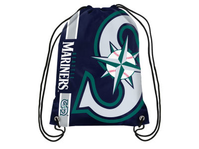 Seattle Mariners Big Logo Drawstring Backpack