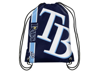 Tampa Bay Rays Big Logo Drawstring Backpack