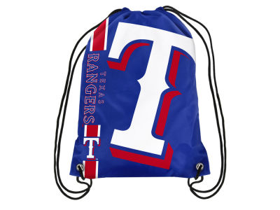 Texas Rangers Big Logo Drawstring Backpack