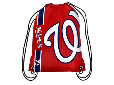 Washington Nationals Big Logo Drawstring Backpack