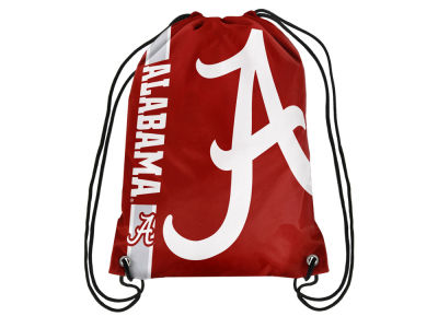 Alabama Crimson Tide Big Logo Drawstring Backpack