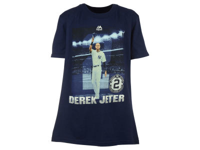 New York Yankees Outerstuff MLB Youth Derek Jeter Final Stats T-Shirt