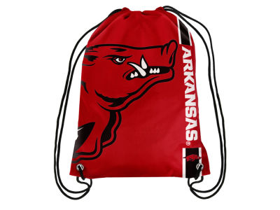 Arkansas Razorbacks Big Logo Drawstring Backpack