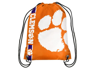 Clemson Tigers Big Logo Drawstring Backpack