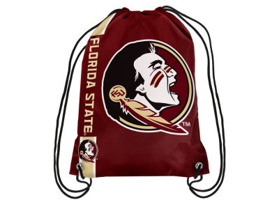 Florida State Seminoles Big Logo Drawstring Backpack