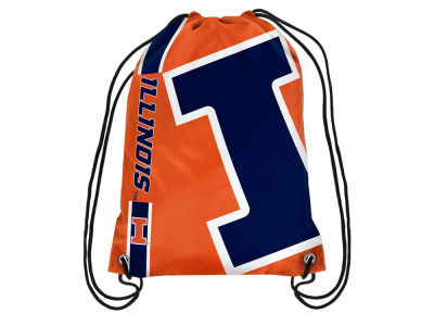 Illinois Fighting Illini Big Logo Drawstring Backpack