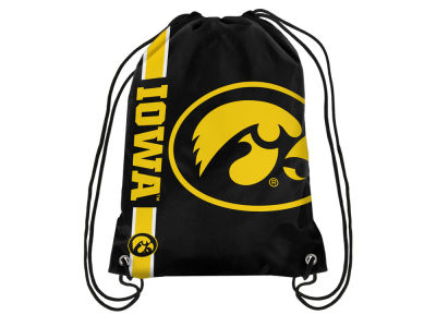 Iowa Hawkeyes Big Logo Drawstring Backpack