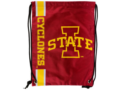 Iowa State Cyclones Big Logo Drawstring Backpack