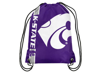 Kansas State Wildcats Big Logo Drawstring Backpack