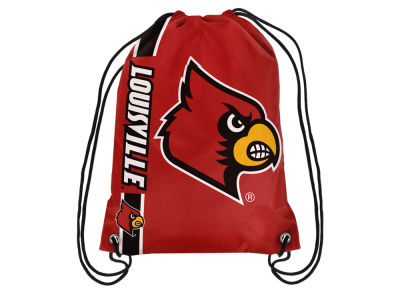 Louisville Cardinals Big Logo Drawstring Backpack
