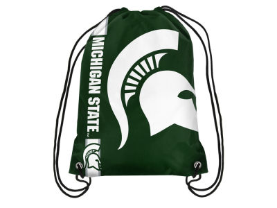 Michigan State Spartans Big Logo Drawstring Backpack