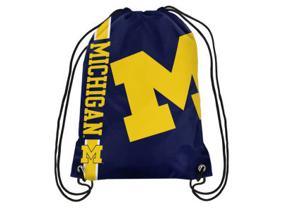 Michigan Wolverines Big Logo Drawstring Backpack