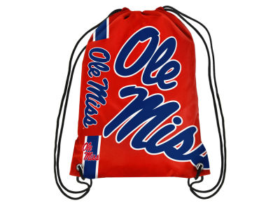 Ole Miss Rebels Big Logo Drawstring Backpack