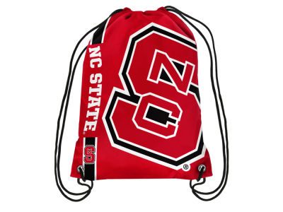 North Carolina State Wolfpack Big Logo Drawstring Backpack