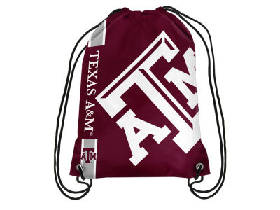 Texas A&M Aggies Big Logo Drawstring Backpack