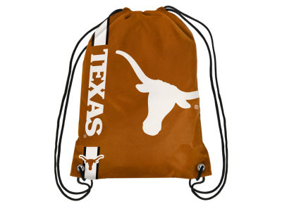 Texas Longhorns Big Logo Drawstring Backpack