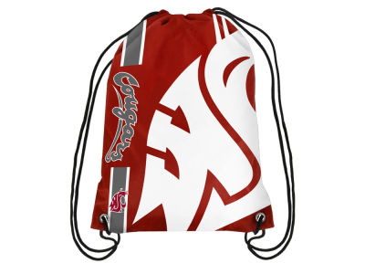 Washington State Cougars Big Logo Drawstring Backpack