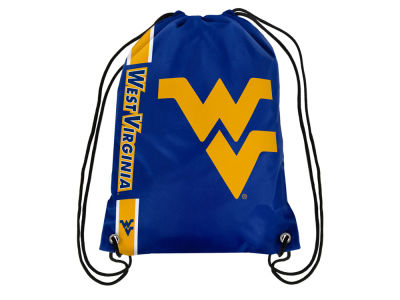 West Virginia Mountaineers Big Logo Drawstring Backpack