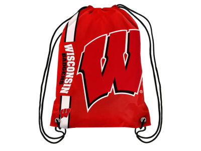 Wisconsin Badgers Forever Collectibles Big Logo Drawstring Backpack
