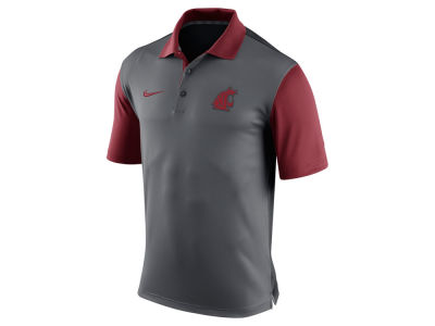 Washington State Cougars Nike NCAA Men's 2015 Preseason Polo Shirt