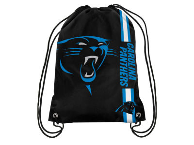 Carolina Panthers Big Logo Drawstring Backpack