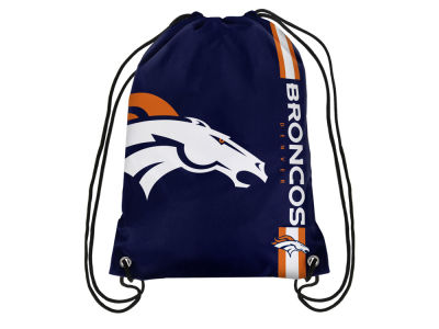 Denver Broncos Big Logo Drawstring Backpack