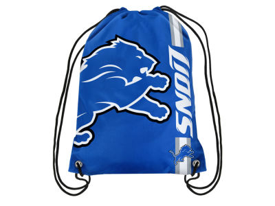 Detroit Lions Big Logo Drawstring Backpack