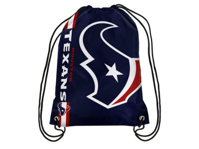 Houston Texans Big Logo Drawstring Backpack