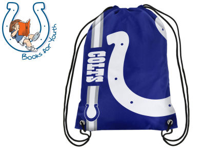 Indianapolis Colts Big Logo Drawstring Backpack