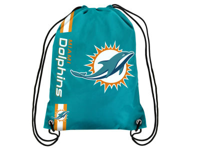 Miami Dolphins Big Logo Drawstring Backpack