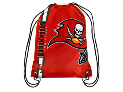 Tampa Bay Buccaneers Big Logo Drawstring Backpack